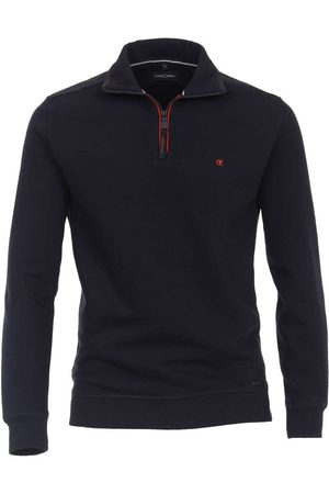 Casa Moda Heren Casual - Casual Casual Fit Troyer , Effen
