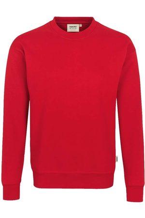 HAKRO Heren Lange mouw - 475 Comfort Fit Sweatshirt ronde hals , Effen