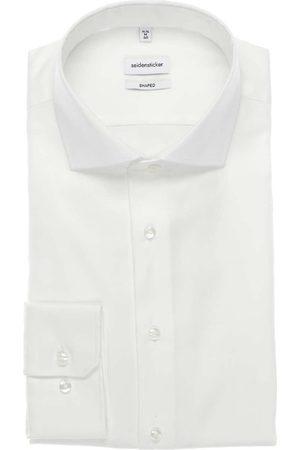 Seidensticker Heren Overhemden - Shaped Overhemd , Effen