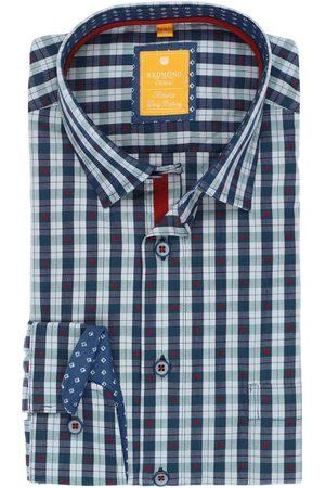 Redmond Heren Casual - Casual Modern Fit Overhemd / , Ruit