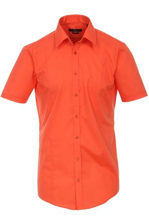 Venti Heren Korte mouwen - Body Fit Overhemd Korte mouw , Faux-uni