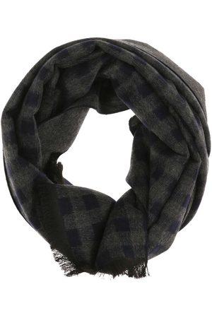 Casa Moda Heren Sjaals - Sjaal antraciet/ , Ruit