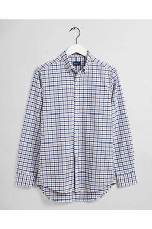 GANT Heren Lange mouwen - Regular Fit Overhemd / , Vichy ruit