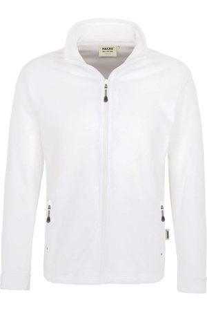 HAKRO Heren Fleece jacks - 840 Regular Fit Fleece jas , Effen