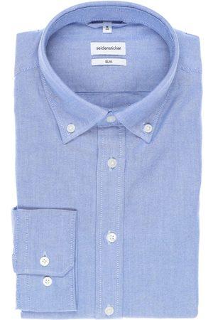Seidensticker Heren Zakelijk - Smart Business Slim Fit Overhemd , Faux-uni