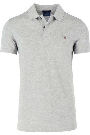 GANT Originale Slim Fit Polo shirt Korte mouw / gevlekt, Melange