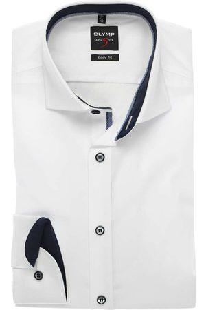 Olymp Level Five Body Fit Overhemd , Effen