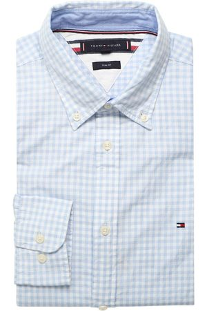 Tommy Hilfiger Heren Casual - Casual Slim Fit Overhemd / , Vichy ruit