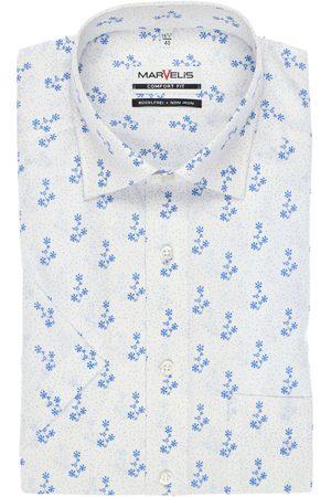 Marvelis Heren Korte mouwen - Comfort Fit Overhemd Korte mouw / , Motief
