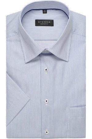 ETERNA Heren Korte mouwen - Comfort Fit Overhemd Korte mouw / , Gestreept