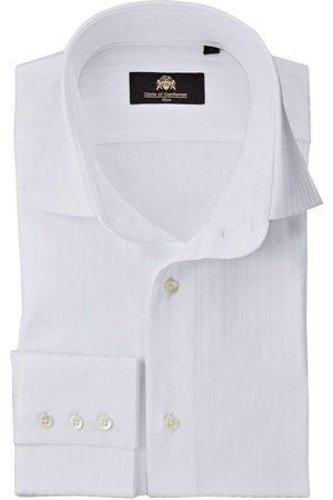 Circle of Gentlemen Heren Lange mouwen - Danthe Slim Fit Overhemd , Effen