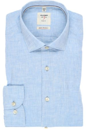 Olymp Heren Zakelijk - Level Five smart business Body Fit Overhemd , Faux-uni
