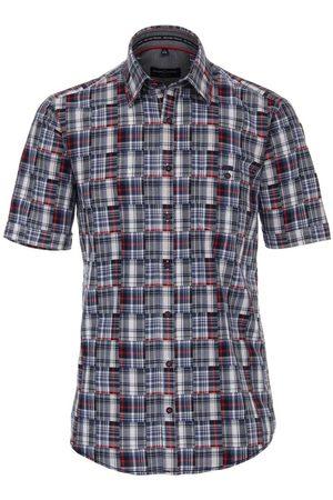 Casa Moda Casual Fit Overhemd Korte mouw , Ruit
