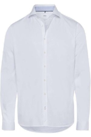 Brax Modern Fit Overhemd , Effen