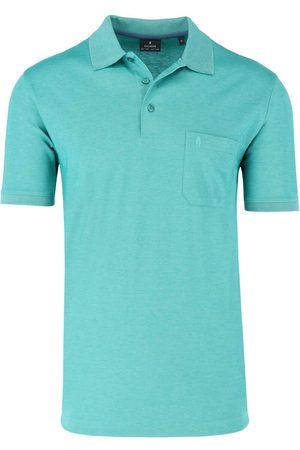 Ragman Regular Fit Polo shirt Korte mouw aqua, Effen