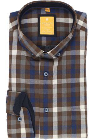 Redmond Heren Casual - Casual Modern Fit Overhemd , Ruit