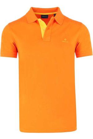 GANT Heren Korte mouw - Regular Fit Polo shirt Korte mouw , Effen