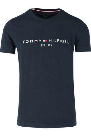 Tommy Hilfiger Heren Shirts - Regular Fit T-Shirt nachtblauw, Effen