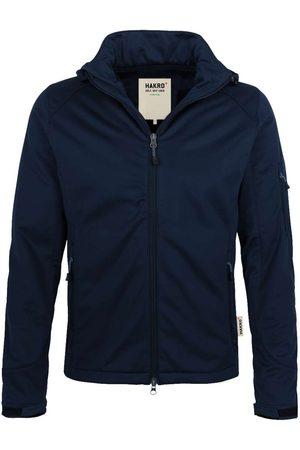 HAKRO Heren Sportjassen - 848 Regular Fit Softshell jas nachtblauw, Effen
