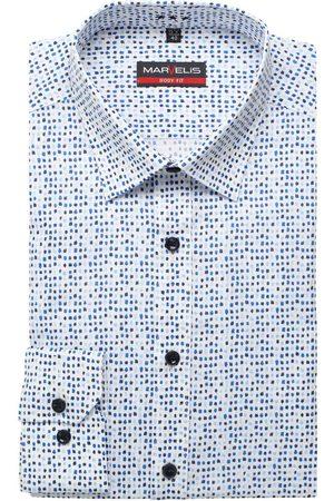 Marvelis Heren Lange mouwen - Body Fit Overhemd / , Motief