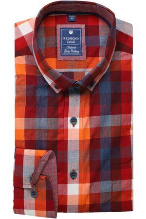Redmond Heren Casual - Casual Regular Fit Overhemd / / , Ruit
