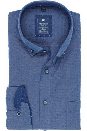 Redmond Heren Casual - Casual Regular Fit Overhemd , Gedessineerd en gestreept