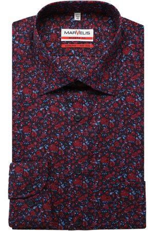 Marvelis Modern Fit Overhemd / , Bloemen