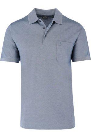 Ragman Regular Fit Polo shirt Korte mouw duif, Effen