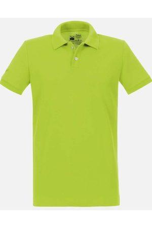 Trigema Heren Korte mouw - Slim Fit Polo shirt Korte mouw citroen, Effen
