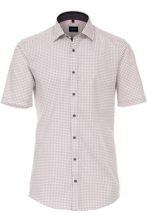 Venti Modern Fit Overhemd Korte mouw , Motief