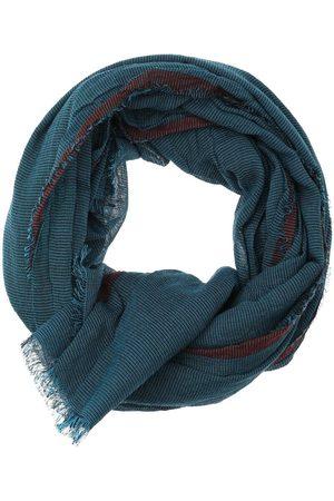 Casa Moda Heren Sjaals - Sjaal turkoois/ , Gestructureerd