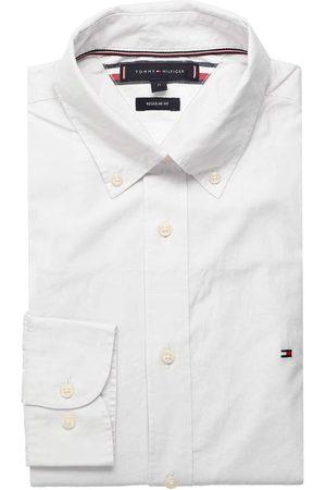 Tommy Hilfiger Heren Casual - Casual Regular Fit Overhemd /albast, Motief