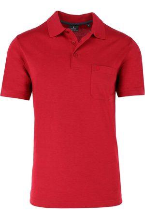 Ragman Regular Fit Polo shirt Korte mouw aardbei, Effen