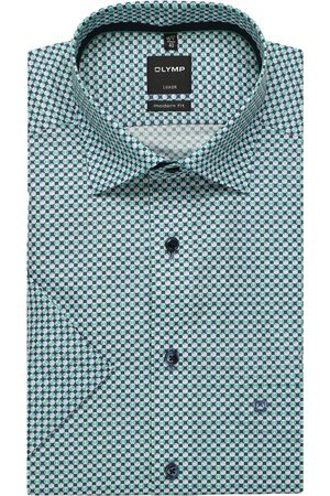 Olymp Luxor Modern Fit Overhemd Korte mouw , Motief