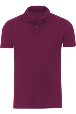 Trigema Heren Korte mouw - Slim Fit Polo shirt Korte mouw sangria, Effen