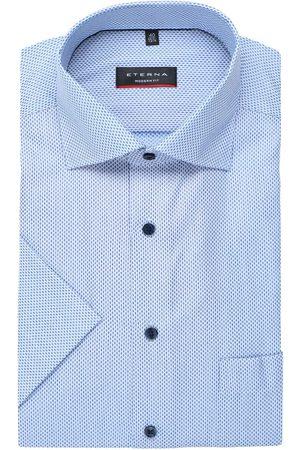 ETERNA Heren Korte mouwen - Modern Fit Overhemd Korte mouw / , Motief