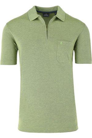 Ragman Heren Korte mouw - Regular Fit Polo shirt Korte mouw , Effen