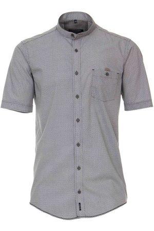 Casa Moda Heren Korte mouwen - Casual Fit Overhemd Korte mouw antraciet, Effen