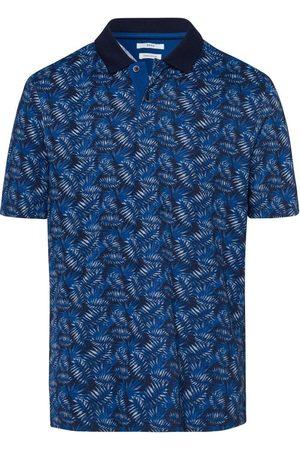 Brax Heren Korte mouw - Modern Fit Polo shirt Korte mouw marine, Motief