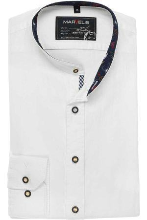 Marvelis Heren Casual - Casual Modern Fit Traditioneel overhemd , Effen
