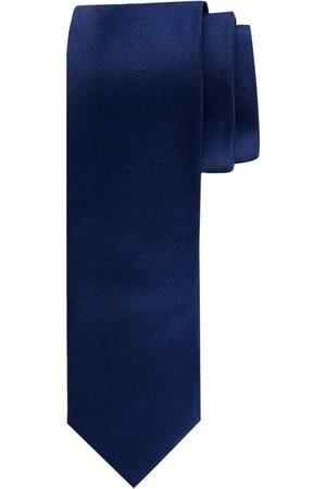 Profuomo Heren Stropdassen - Originale Slanke stropdas , Effen