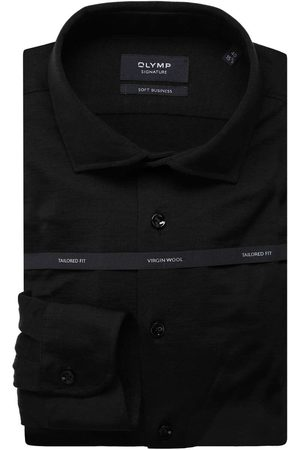 Olymp Soft Business Tailored Fit Overhemd , Effen