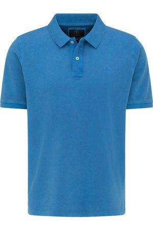 Fynch-Hatton Casual Fit Polo shirt Korte mouw koninklijk, Gewassen