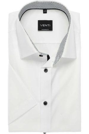 Venti Modern Fit Overhemd Korte mouw , Effen