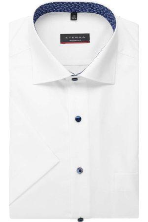 ETERNA Heren Korte mouwen - Modern Fit Overhemd Korte mouw , Gestructureerd