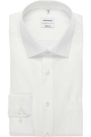 Seidensticker Heren Overhemden - Modern Fit Overhemd , Effen