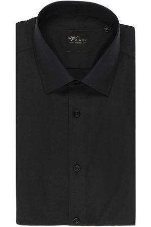 Venti Heren Korte mouwen - Modern Fit Overhemd Korte mouw , Effen