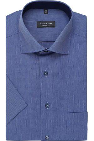 ETERNA Heren Korte mouwen - Comfort Fit Overhemd Korte mouw , Gestructureerd