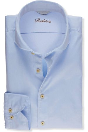 Stenströms Heren Casual - Casual Fitted Body Overhemd