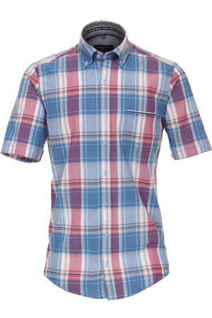 Casa Moda Casual Fit Overhemd Korte mouw / , Ruit